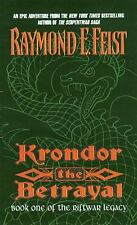 Riftwar Legacy: Krondor : The Betrayal 1 by Raymond E. Feist (1999, Paperback)