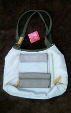NWT Easy Spirit Accessories Bone Color Purse Great Compartments (Locker Room)