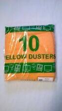 """20 x 20"""" Cotton Traditional Cleaning Duster 50 x 50cm x 10 per pack Extra Large"""