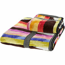 MISSONI Home Bath & Hand Towel Set   new