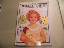 Classic Shirley Temple Paper Dolls / New Unused / Free Domestic Shipping