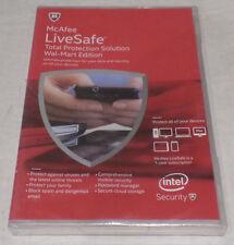 McAfee LiveSafe TOTAL PROTECTION WALMART EDITION ( 1 year ) . MLS15EWB1RAA