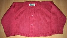 Girls pink cardigan for 12 months (74cm) from Vertbaudet - excellent condition