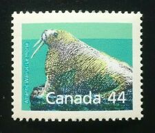 Canada #1171a SP 12.5 x 13.1 MNH, Atlantic Walrus Booklet Stamp 1989