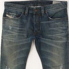 Mens Diesel SAFADO 0818L Straight Blue Jeans W32 L34