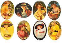 Vintage 1970er Coca-Cola USA Taschenspiegel Spiegel Coke 70's Pocket Mirrors