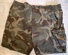 The Foundry Supply Co. Mens Green Camo Cargo Shorts Size 50