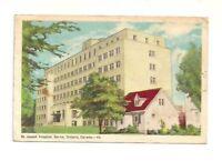 ST. JOSEPH HOSPITAL, SARNIA, ONTARIO, CANADA VINTAGE POSTCARD