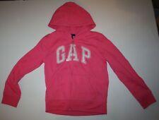 New Gap Kids Outlet Hoodie Sequin GAP Arch Logo Zip Size 12 Year NWT Sweatshirt