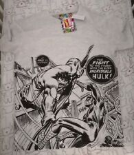 INCREDIBLE HULK mens' t-shirt, brand new, size small, licensed