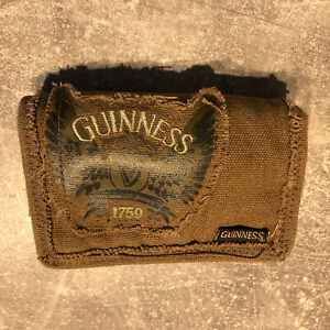 Guinness® Canvas Wings Wallet - Never Used