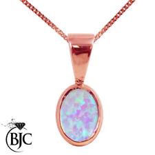 Collares y colgantes de joyería con gemas naturales colgante de oro rosa