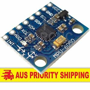 MPU-6050 6DOF 3 Axis Gyro And Accelerometer Sensor Module Arduino Raspberry Pi