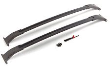 GM Black Roof Rail Cross Bars 2015-2018 Tahoe Suburban Yukon XL Escalade ESV OEM