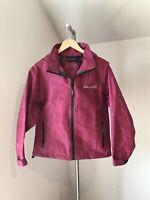 Frogg Toggs Outerwear Magenta Women's Pink Hooded Rain Jacket Medium M