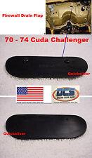1970 1971 1972 1973 1974 Cuda Challenger Firewall Drain Seal USA Made MoPar