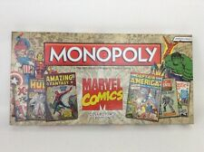 COMPLETE Monopoly Marvel Comics Collectors Edition Board Game 2012 Hulk Iron Man