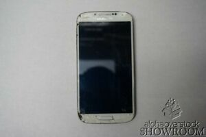 Used/Untested Samsung I337 Galaxy S4 White Smart Phone Parts/Repairs Only