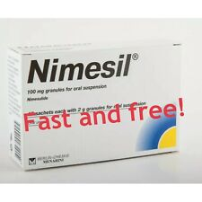 NIMESIL 10 X 2g Sachets Pain relief Toothache Muscle Pain Fast Relief Nimesulide