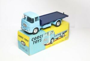 Corgi 457 ERF 44G Platform Lorry In It's Original Box - Near Mint Vintage Model