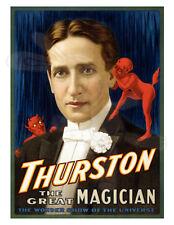 Magic Poster Howard Thurston  1913 Thurston the great magician 17x22
