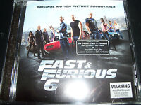 Fast & The Furious 6 (Australia) Original Soundtrack CD – New