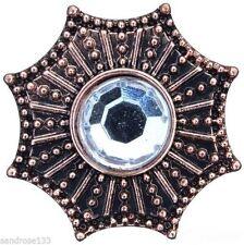 Modeschmuck-Armbänder aus Kupfer mit Strass-Hauptstein