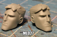 """ML027 Custom Cast head use with 6"""" Marvel Legends action figures"""