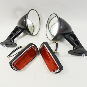 FOR Nissan Fairlady Z Datsun 280z 1975-78 Black Fender Mount Side Mirrors PAIR