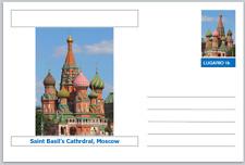 "Landmarks - souvenir postcard (glossy 6""x4""card) - Saint Basil's Cathedral"