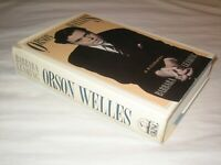 SCARCE SIGNED Orson Welles: A Biography Barbara Leaming FIRST EDITION 1995 DW VG