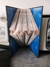 Love Folded Book Art. Gift. Art. With Ribbon SALE LIMITED TIME
