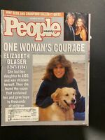 People Magazine Dec.19,1994 Celeberty Gere & Crawford,One Woman's Courage