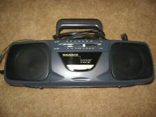 HTF Vintage MAGNAVOX Stereo AM/FM Radio & Cassette Tape Player