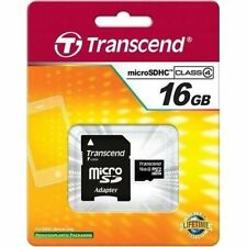 Cartes mémoire Transcend pour téléphone mobile et assistant personnel (PDA), 16 Go
