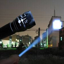2000 Lumen Flashlight LED Zoomable Focus Torch Zoom Lamp Light