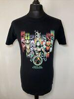 DC Comics Aquaman Unite The Kingdoms Men's Black T-Shirt Tee Medium M NEW