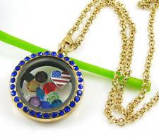 Acrylic Locket Costume Necklaces & Pendants