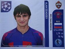 Panini 103 Alan Dzagoev CSKA Moskva Moskau UEFA CL 2011/12
