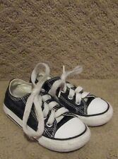 Converse Chuck Taylor AS Toddler Low Top Black Sneakers Size 5 Style 7J235