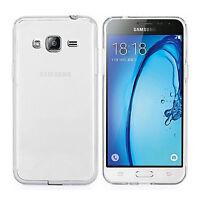 "Funda Carcasa Transparente Silicona Para Samsung Galaxy J3 2016 SM-J320FN 5"""