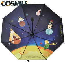 Le Petit Prince The Little Prince Rose Sun Rain Folding Umbrella Sa