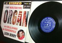 """LEON BERRY At The Giant Wurlitzer AFSD 5905 EX/NM 12"""" LP Vinyl record classical"""