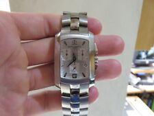 Baume Mercier Men's Hampton Chronograph Silver Dial Watch 65481