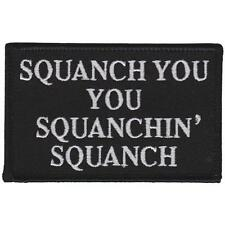 SQUANCH EMBROIDERED IRON-ON PATCH THRILLHAUS RICK AND MORTY