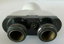 Zeiss Standard Binocular Microscope Head Dual Adjustable Diopters