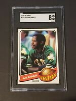 1979-80 Topps #110 Nate Archibald SGC 8 NM/MT Newly Graded