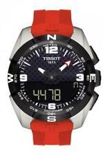 Tissot T-Touch Expert Solar Black Dial Men's Titanium Watch T091.420.47.057.00