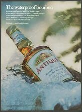 ANTIQUE Kentucky Straight Bourbon Whiskey - 1969 Vintage Print Ad