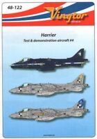 vingtor 1/48 BAe Harrier - TEST & Demostración Avión N º 4 #48122